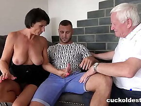 Granny Can't Wait to be Cuckolded