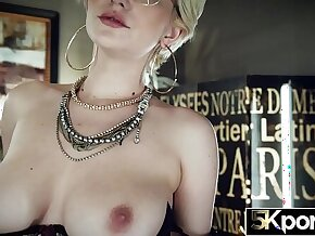 5KPORN Skye Blue Bounces Her Perfect Natural Tits